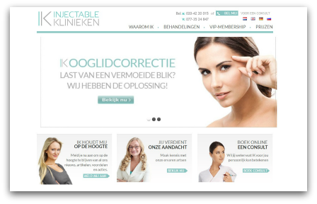 injectable klinieken website