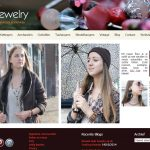 Juuls Jewelry website before redesign